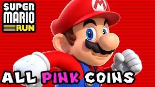 Super Mario Run: All Pink Coins