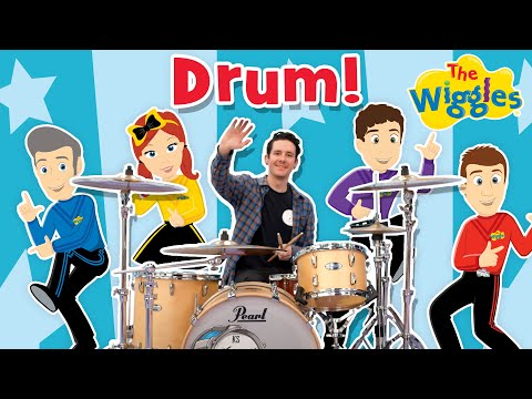 The Wiggles: Drum Chronology feat  Kye Smith - YouTube