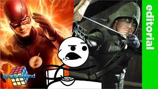 Bad Format = BAD STORY (CW Flash & Arrow)