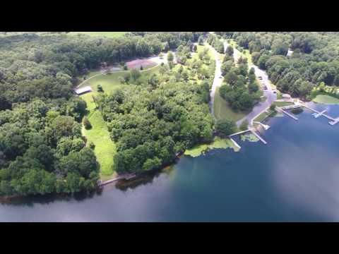 Phantom 4 - Central MD. Piney Run Lake And Boat Docks