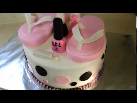 Flip Flop Cake How To Youtube