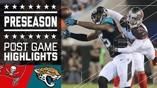 Buccaneers vs. Jaguars | Game Highlights | NFL