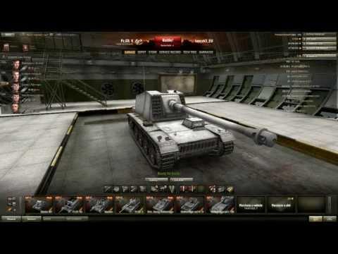 World of Tanks CZ - test(8.9) - Nové Německé TD 1., 2. část