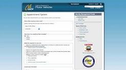 DMV Online Appointment