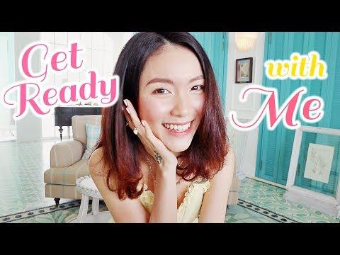 GET READY with Me + Makeup Mùa Hè Da Căng Bóng ♡ | Lindsie Pham