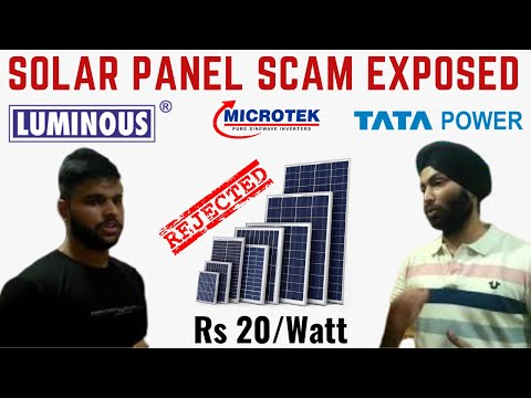 Fake Solar Panels in Lajpat Rai Market | SCAM | Check carefully before purchasing | Shashank Is Here