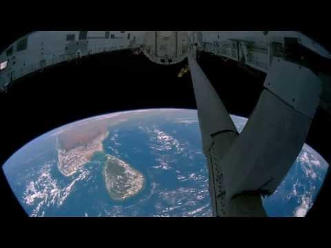 Earth Seen Space Station (HD 4k)