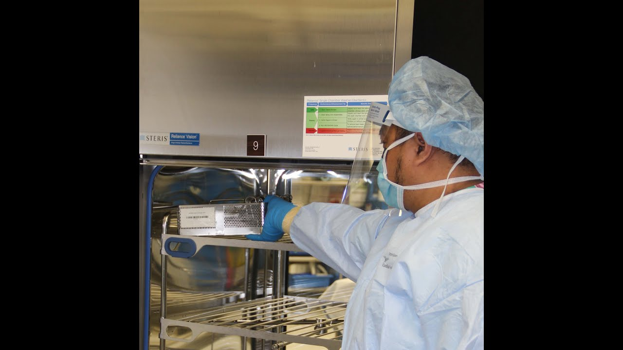 What are the duties of a sterile process technician?