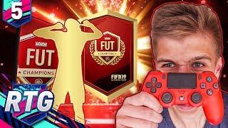 Genialny WALKOUT za FUT CHAMPIONS! | FIFA 19 Ultimate Team RTG [#5]