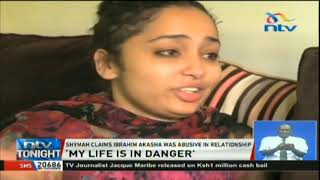 Woman claiming to be Ibrahim Akasha's ex-fiance says her life is in danger