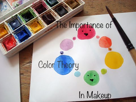 Color Theory for Makeup Artists (Part 1) - Makeup Colour Wheel Theory