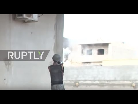 Libya: GNA forces push back IS in Sirte