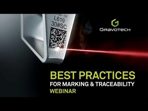 Best Practices for Marking & Traceability Webinar