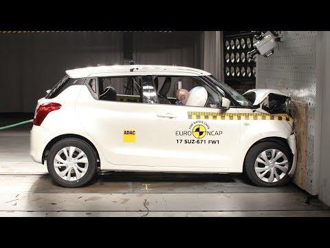 2017 Suzuki Swift - Crash test