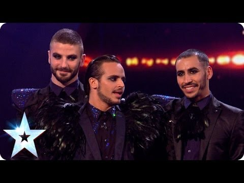Yanis Marshall, Arnaud & Mehdi are in the Final   Britain's Got Talent 2014