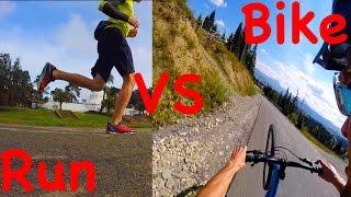 видео Велосипед или бег лучше для похудения?