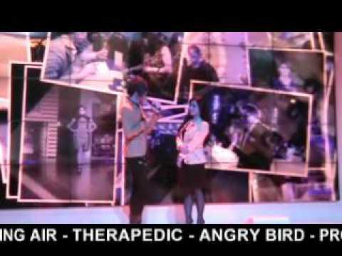 SPRING AIR - THERAPEDIC - ANGRY BIRD - PROTECT A BED FAIR & PROMO (1) fear. HITZ BOY BAND