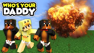 MINECRAFT WHO'S YOUR MOMMY - LITTLE CARLY BLOWS UP THE SCHOOL!!!