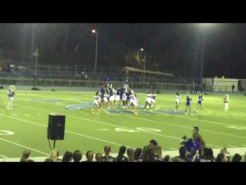 Palisades High School Homecoming Halftime Show Cheerleader Squad 10/21/2016