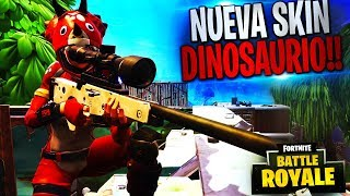 NOUVEAU DINOSAUR SKIN!!! | Gameplay de Fortnite Battle Royale Rubinho vlc