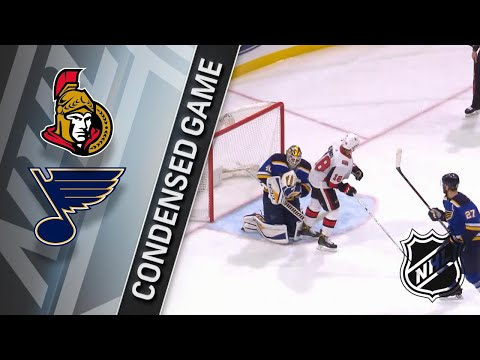01/23/18 Condensed Game: Senators @ Blues