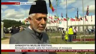 BBC News: Imam of London's Oldest Mosque at Ahmadiyya convention