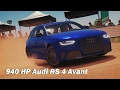 Extreme Power, No Handling (Autocross) - 2013 Audi RS 4 Avant (Forza Horizon 3)