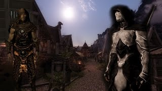 Skyrim обзор модов: Dawn of Skyrim; Skyforge Armour and Weapon; Sinister Nightingale