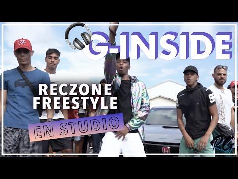 G Inside - Au studio lors du Freestyle Rec'Zone avec N'Dji, Nairod, Nans, Sakay, Skaya