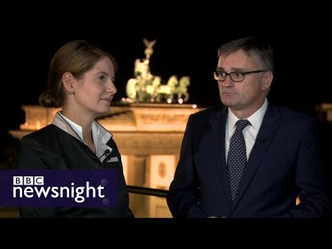 Unpacking the German election campaign: Tanit Koch and Stefan Kornelius – BBC Newsnight
