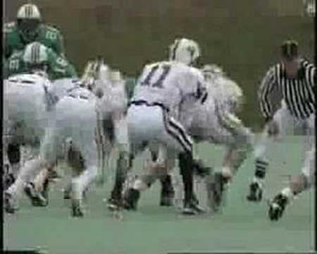Marshall Thundering Herd 1996 football season review Vol 4