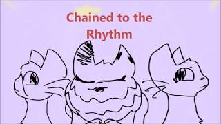 chained to the rytheme animated cats
