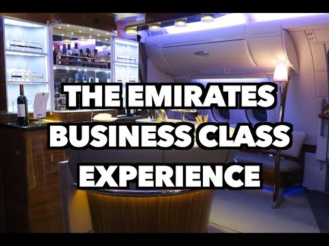 THE EMIRATES BUSINESS CLASS EXPERIENCE