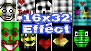 16x32 Animasyon Efekti || Yeni Tasarım || Antor Elektronik || Tangail. Bangladeş