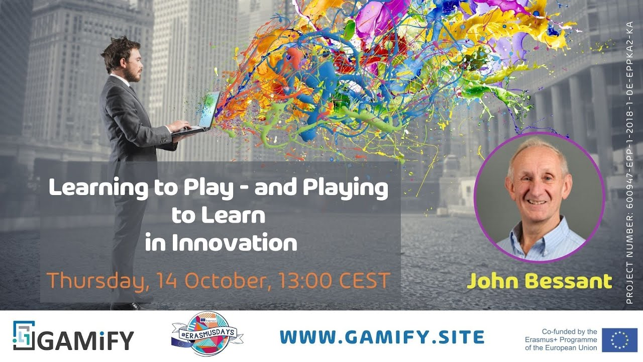 """Webinar """"Learning to Play - and Playing to Learn in Innovation"""""""