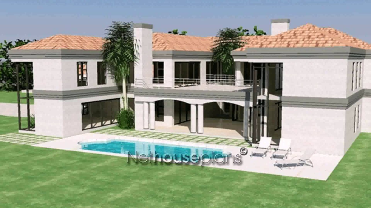 Tuscan Style House Plans South Africa - YouTube