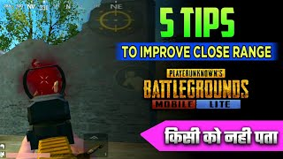 Close Range Complete Guide || 5 Tips & Tricks || Solo Vs Squad Guide || Pubg Mobile Lite ( Hindi )