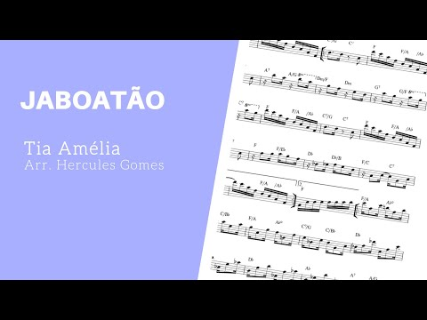 "<span class=""title"">JABOATÃO (Tia Amélia)  |VIDEO-PARTITURA|</span>"