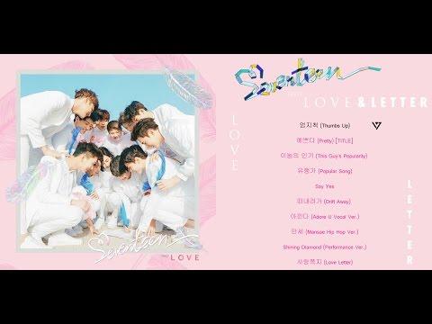 [FULL ALBUM] SEVENTEEN(세븐틴) – 1st Album First 'LOVE&LETTER'