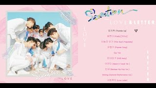 [FULL ALBUM] SEVENTEEN(세븐틴) – 1st Album First 'LOVE&LETTER'