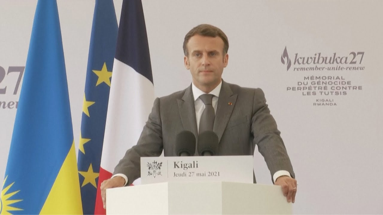 Download Macron recognizes France's 'responsibility' in 1994 Rwanda genocide