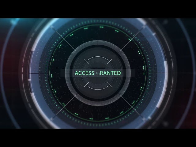 3Dintro.net 293 hud access logo reveal - 3Dintro.net - Intro Video
