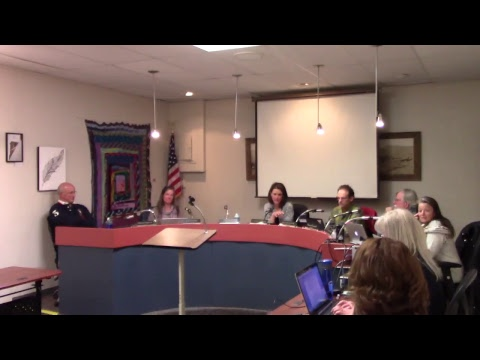 March 19, 2018 Town of Lyons Board of Trustees Meeting