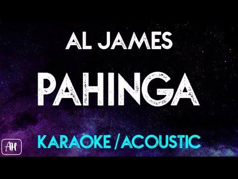 Al James - Pahinga (Karaoke/Acoustic Instrumental)