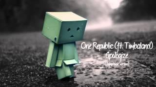 OneRepublic ft Timbaland - Apologize (Symphonic version)