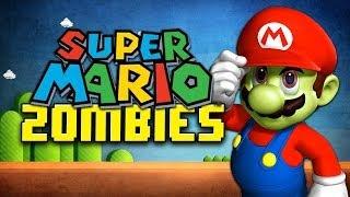 SUPER MARIO ZOMBIES ★ Left 4 Dead 2 (L4D2 Zombie Games)