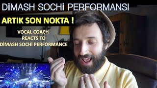 Dimash Sochi Performansı | Vocal Coach Reacts to Dimash Sochi Performance