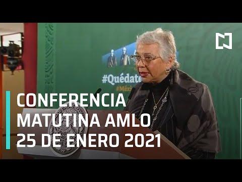 Conferencia matutina AMLO/ 25 de enero de 2021