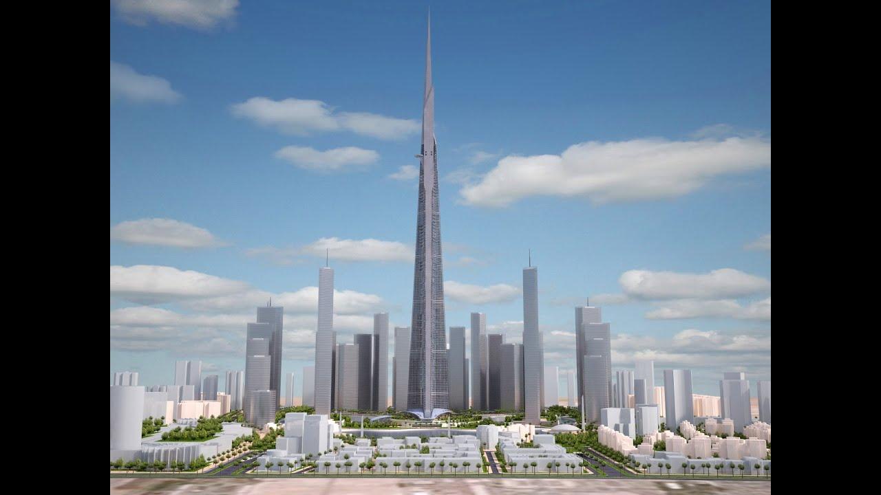 Building Construction Wallpaper Hd 3d Model Kingdom Tower Yeddah Burj Al Mamlakah Cgriver