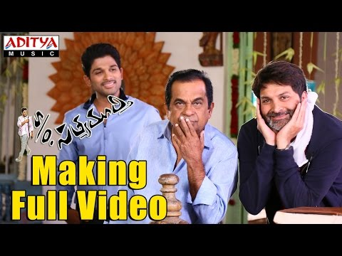S/o Satyamurthy Making Full Video -  Trivikram,Allu Arjun,Samantha